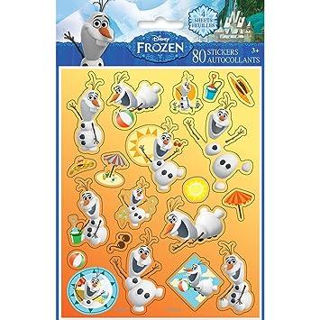 Disney Frozen Olaf Sticker Sheets, 4ct: Amazon.es: Juguetes ...