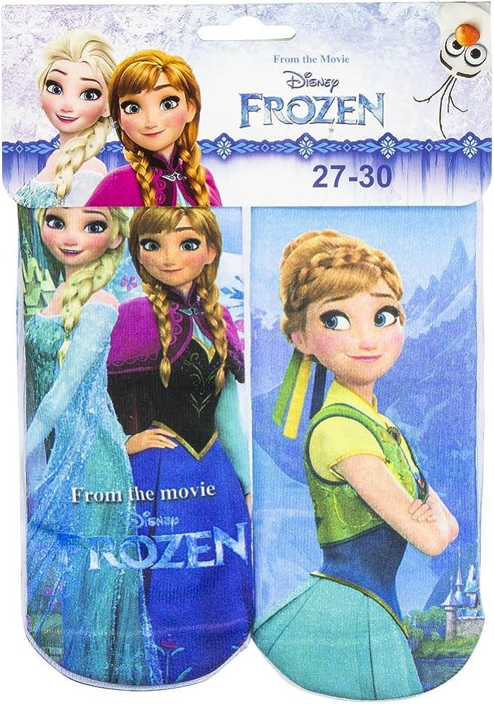 SUN CITY Calze Frozen Disney Elsa ed Anna