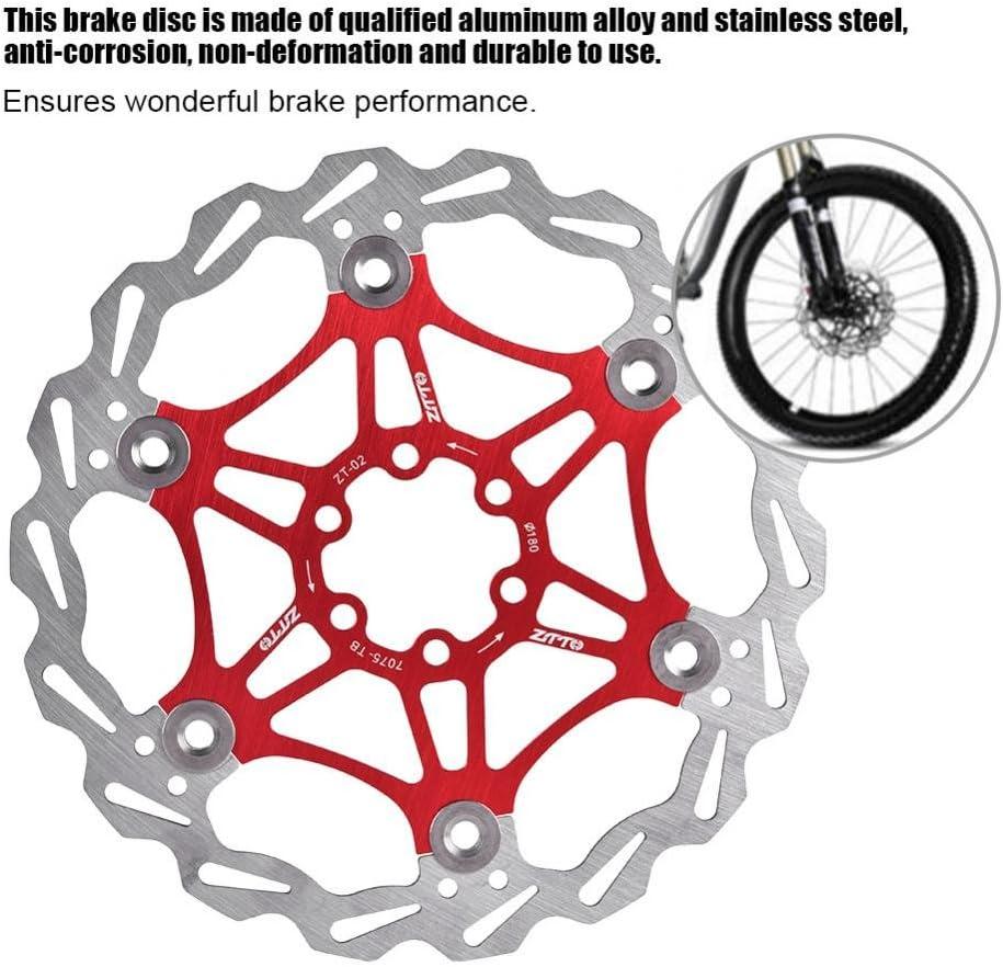 Rotor de Freno de Disco Flotante Bicicleta de Ciclismo180 mm 6 ...