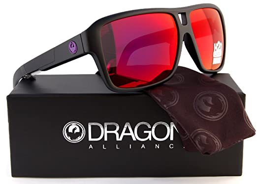 ff549b9195 Dragon Alliance The Jam H2O Floatable Polarized Sunglasses Matte Black  w Plasma Ion Mirror (