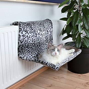 PaylesswithSS Cama de Gato con radiador de Peluche de Leopardo