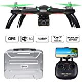 Contixo F20 RC Remote App Controlled Quadcopter Drone | 1080p HD WiFi Camera, Follow Me, Auto Hover, Altitude Hold, GPS, 1-Key Takeoff/Landing, Auto Return Includes Custom Drone Carrying Storage Case