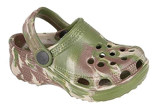 530d4c5d1d772 KIDS UNISEX BOYS GIRLS INFANTS CLOGS BEACH SANDAL FLIP FLOP GARDEN PLASTIC  SHOES  Amazon.co.uk  Shoes   Bags
