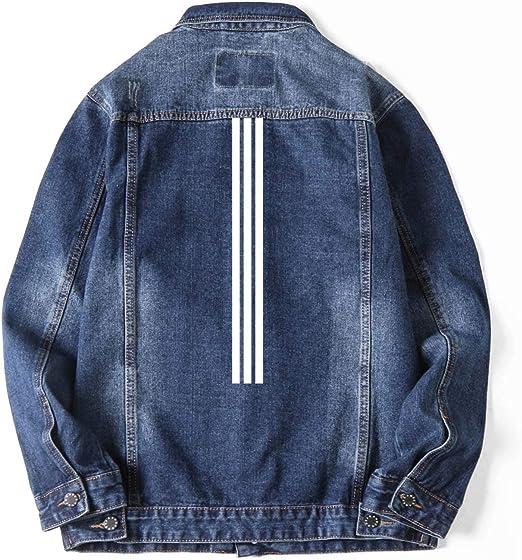 Tenflow デニムジャケット メンズ Gジャン 大きいサイズまで ジャケット プリント デニム ジージャン メンズデニム 羽織 アウター sbq-yh5002