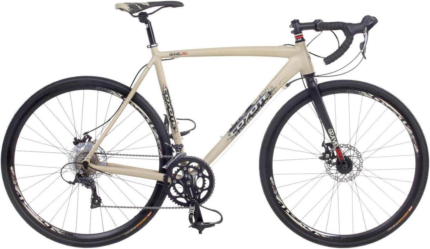 Bicicleta 700 C de Coyote Gravel Pro Cyclocross, bicicleta de carreras CX Cyclecross Cross Race Gravel, tamaño 52 cm, tamaño de cuadro 52.00, tamaño de rueda 28.00: Amazon.es: Deportes y aire libre