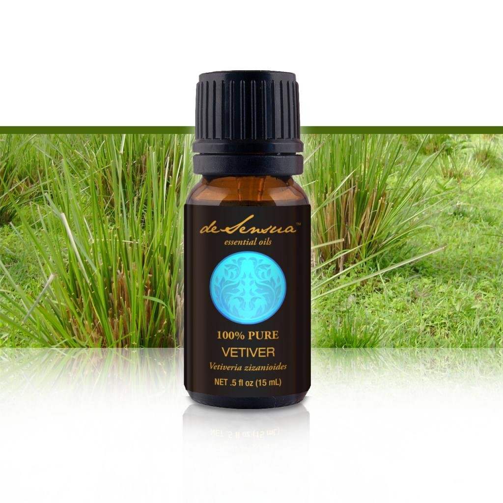 Vetiver Essential Oil, 100% Pure -15 mL
