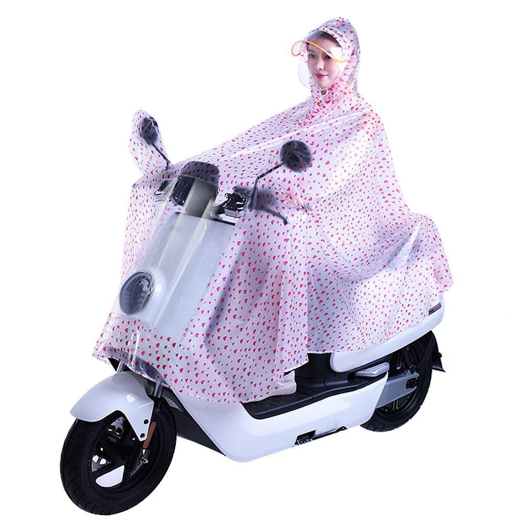 Regenmantel Männer und Frauen einzigen Motorrad Fahrrad Poncho QIANG