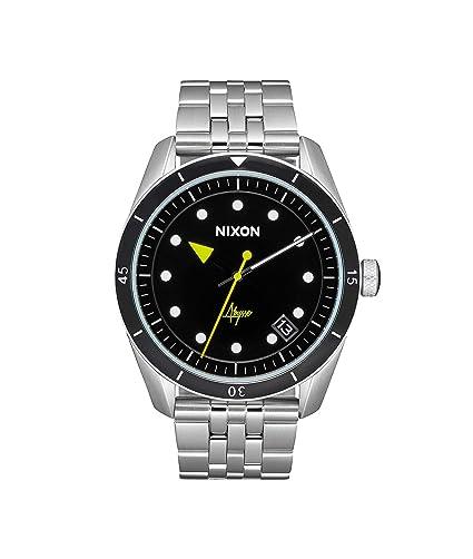NIXON Reloj Analógico para Mujer de Cuarzo con Correa en Acero Inoxidable A12372971: Nixon: Amazon.es: Relojes