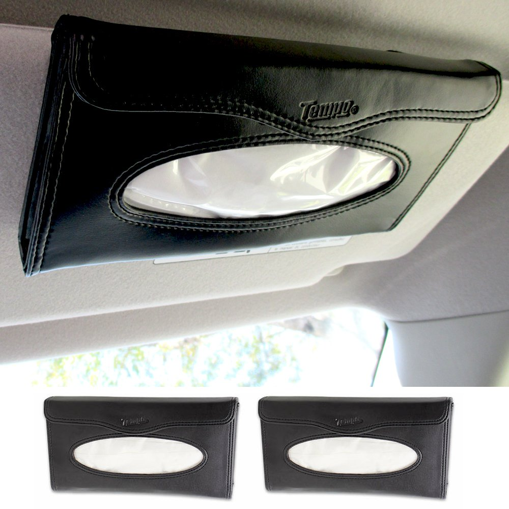 2 car visor tissue holder caddy kits refill kleenex cases handy