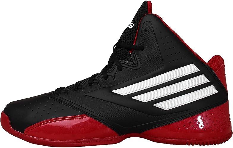 adidas 3 Series 2014 Scarpa da Basket per Uomo, (Nero), 39