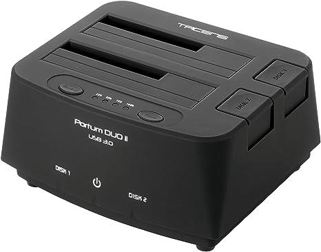 Tacens 5PORTUMDUO2 - Base de conexión Docking Station (USB 3.0 ...