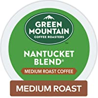 Green Mountain Coffee Roasters Nantucket Blend Keurig Single-Serve K-Cup Pods, Medium Roast Coffee, 72 Count (Pack of 1)