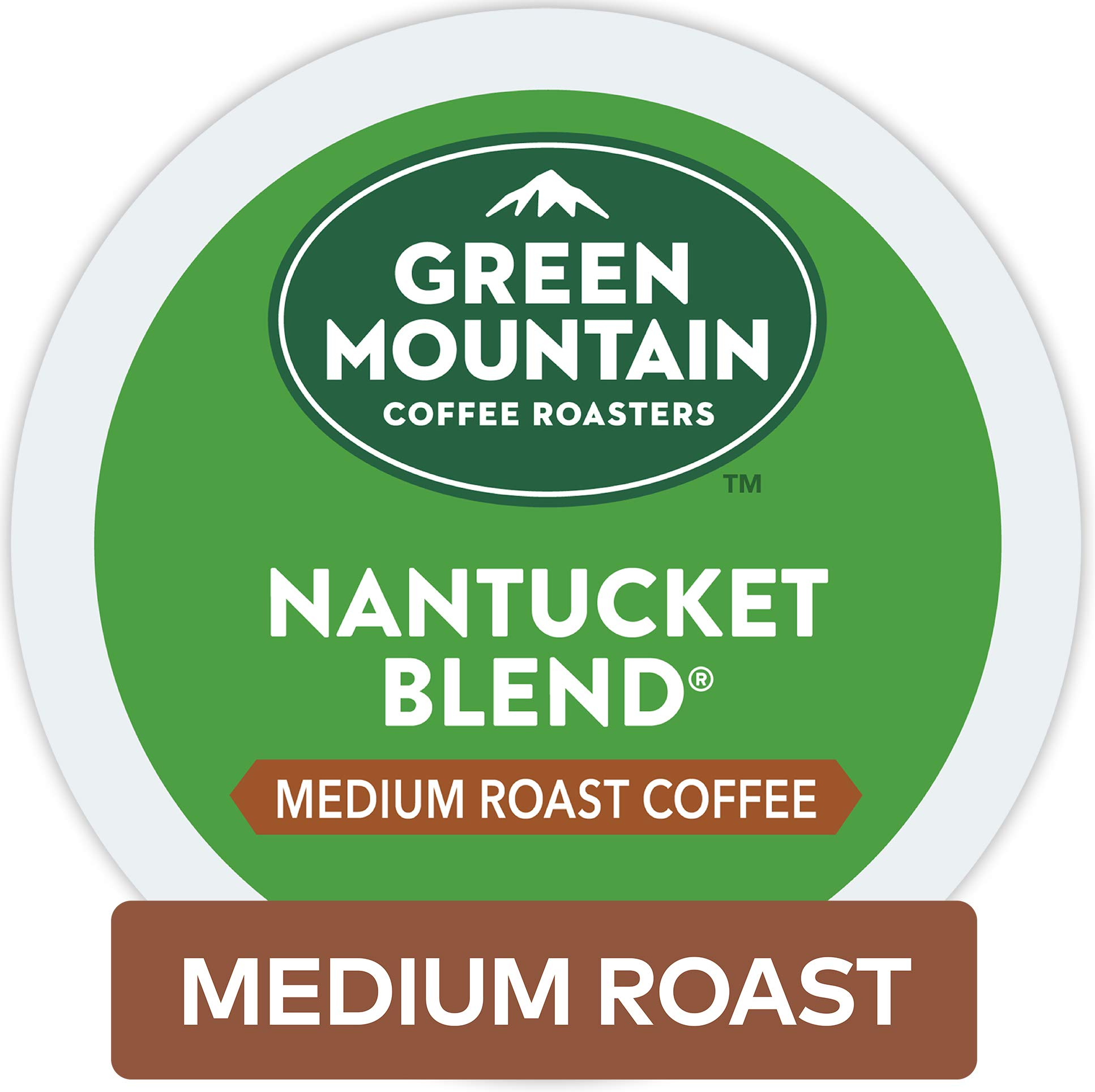 Green Mountain Coffee Roasters Nantucket Blend Keurig Single-Serve K-Cup Pods, Medium Roast Coffee, 72 Count by Green Mountain Coffee Roasters