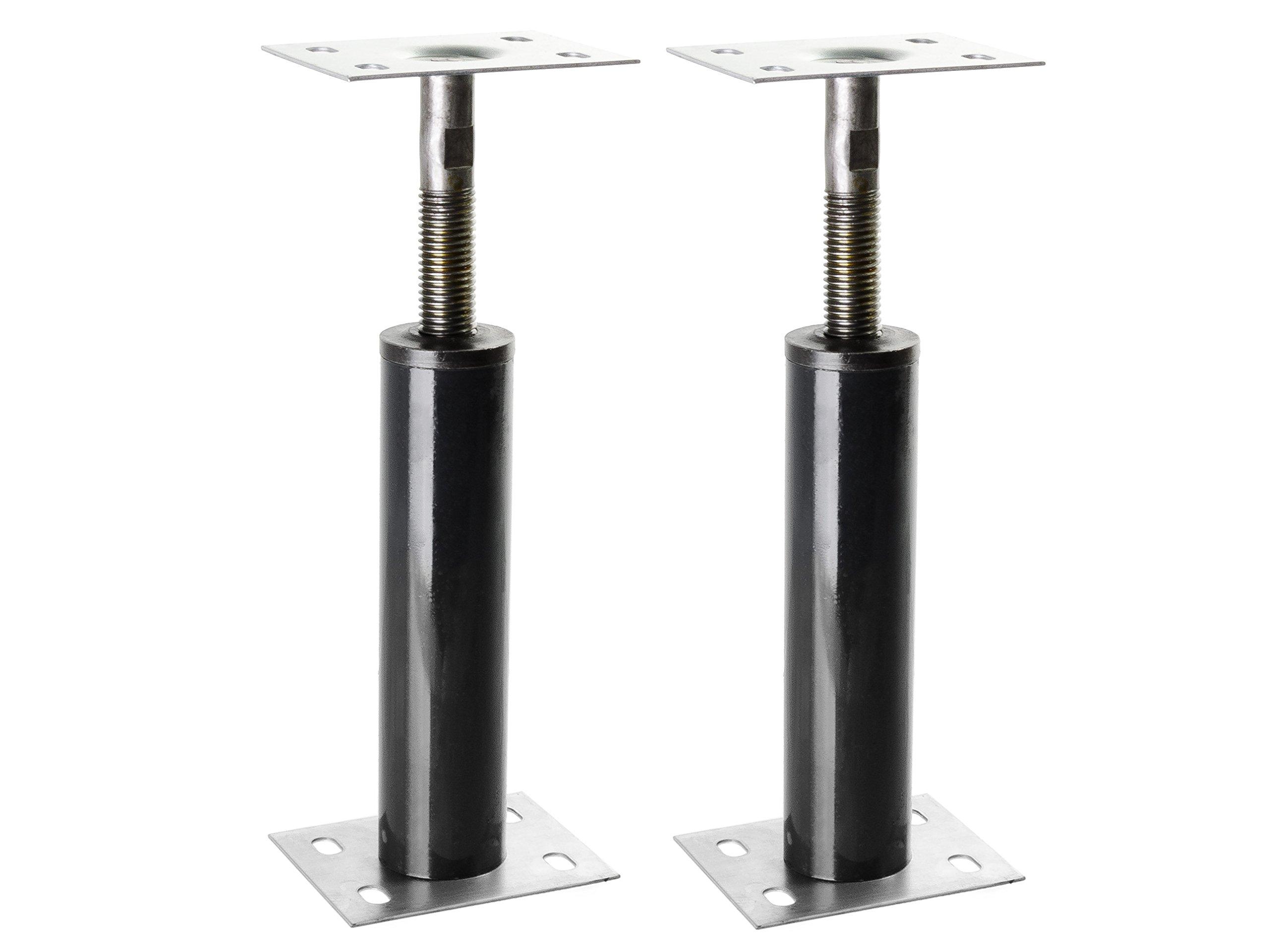 Adjustable Floor Jack Post 15 Gauge - Size Range 1'-1'3'' (2 Pack)