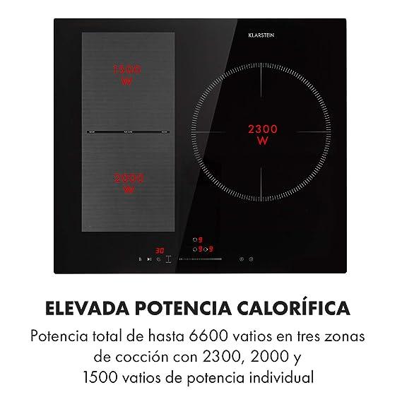 Klarstein Delicatessa 3 Flex placas de inducción - Fogones ...