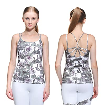 SOFT VC Women's Yoga Tops Activewear Workout Clothes Moisture Wicking Super DRI-Fit Sport Performance Tops