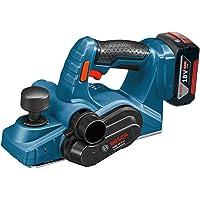 Bosch Professional 06015A0303 Cepillo a batería, 18 W, 18 V, Negro, Azul