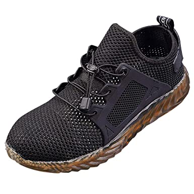 938bd1e6863 New 2019 Indestructible Ryder Safety Shoes for Men and Women with Steel Toe  Cap|Lightweight Breathable Work Shoes|Puncture-Proof Work Sneakers