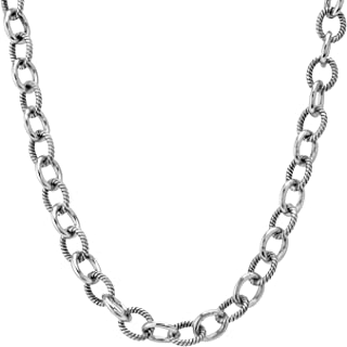 product image for Carolyn Pollack Sterling Silver 20 Chain Necklace