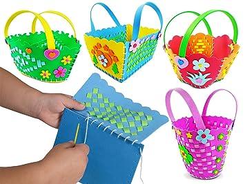 Amazon Com Einscraft Kids Sewing Stitching Weaving Kit Cute Diy