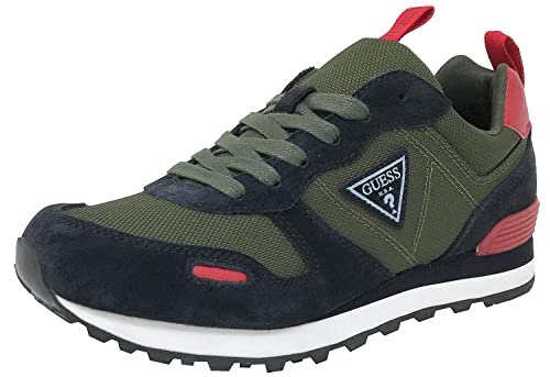 a6a98a33 Guess FMCHA4 FAB12, Zapatillas Deportivas, Hombre, Verde: Amazon.es: Zapatos