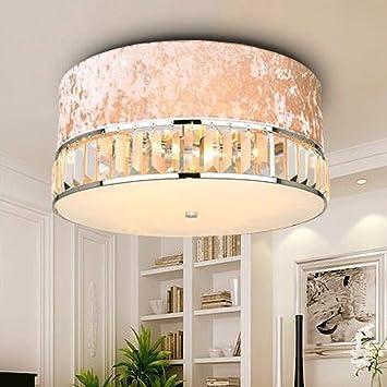 YHJ Lámpara de techo la moda de tela lámparas de techo ...