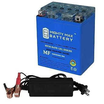 Amazon.com: YTX14AH batería de Gel para Yamaha ytm200, E ...