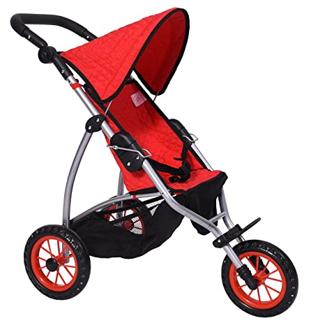 The New York Doll Collection Doll Jogging Stroller