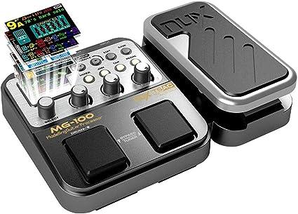 Asmuse Multi Efecto Pedal Guitarra Eléctrica MG100 Procesador de ...