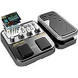 Asmuse NUX MG 100 Multiefecto para Guitarra Electrica multi Efecto Pedale Procesador de Efectos Guitar Effect Pedal Electric Bajo (EU Connector)
