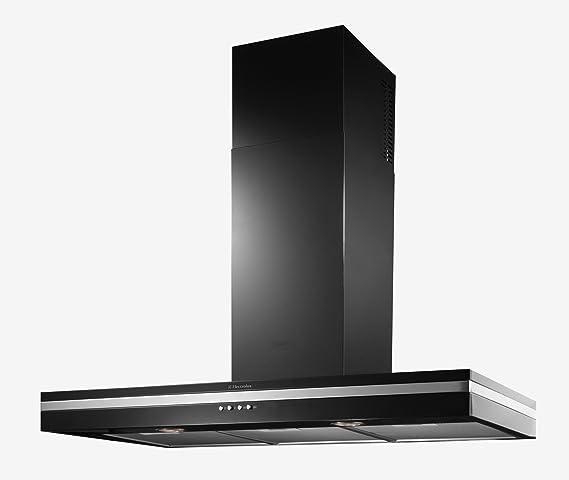 Electrolux EFC90344 K campana decorativa 90 cm 660 M3/H negro: Amazon.es: Grandes electrodomésticos
