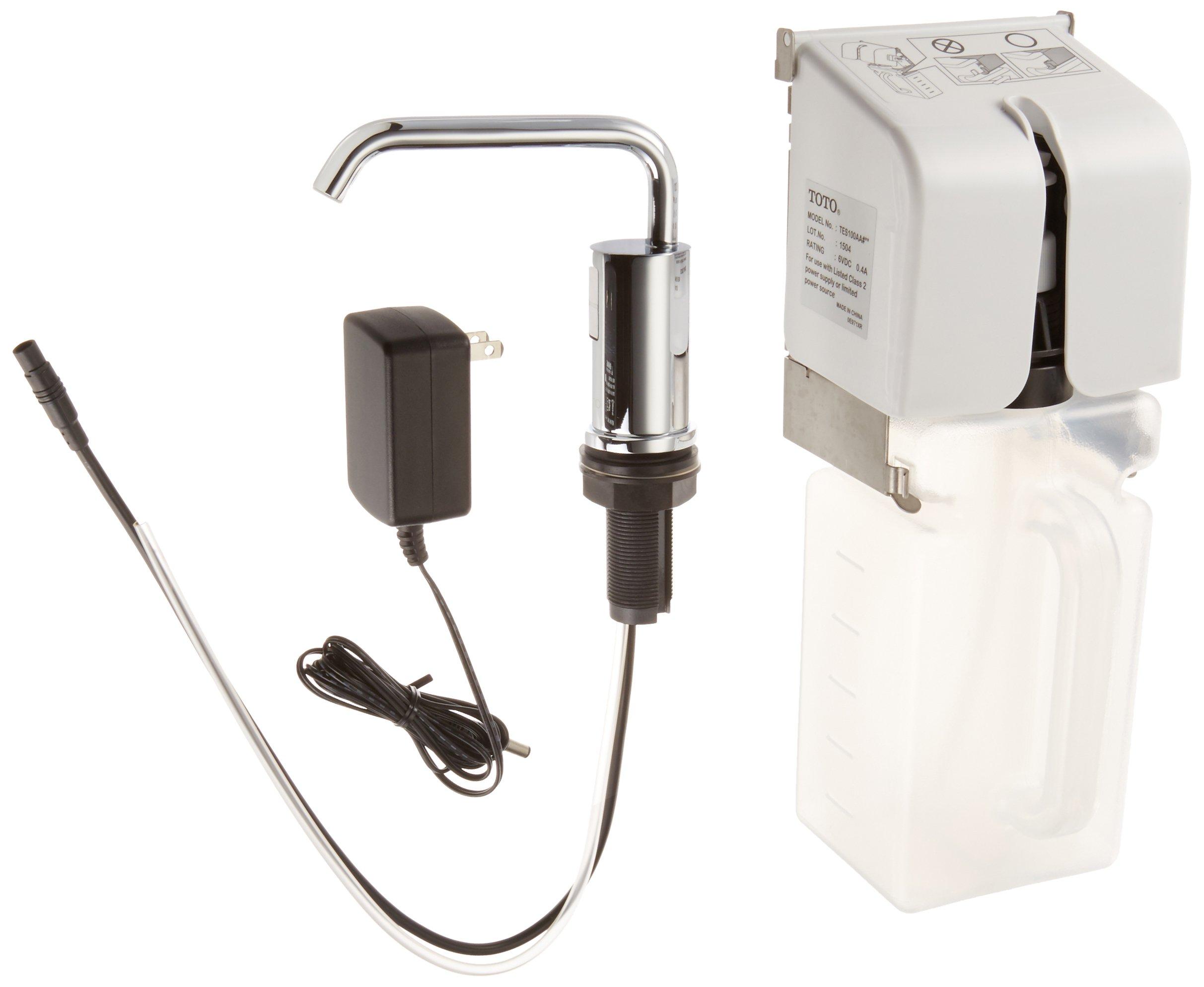 TOTO TES100AA#CP Sensor Operated Automatic Soap Dispenser, Polished Chrome