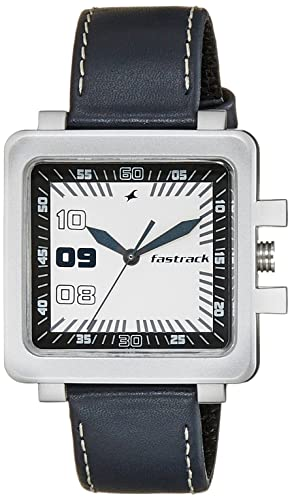 23532b5739c4 Buy Fastrack Essentials Analog White Dial Men s Watch -NK747PL01 Online at  Low Prices in India - Amazon.in