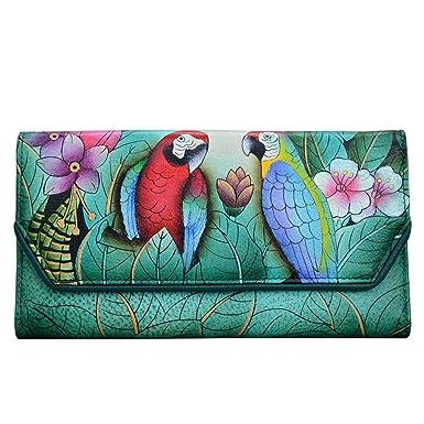 Amazon.com: Anuschka - Llavero de piel con diseño de Anna ...