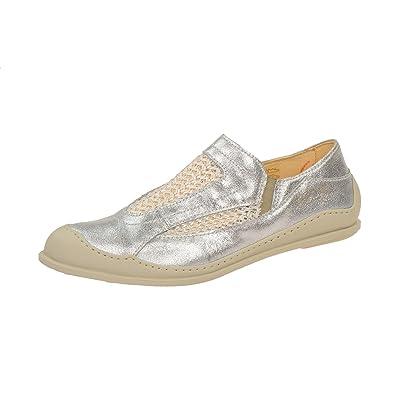 Eject 18176.001 Silver-white, Mocassins pour femme