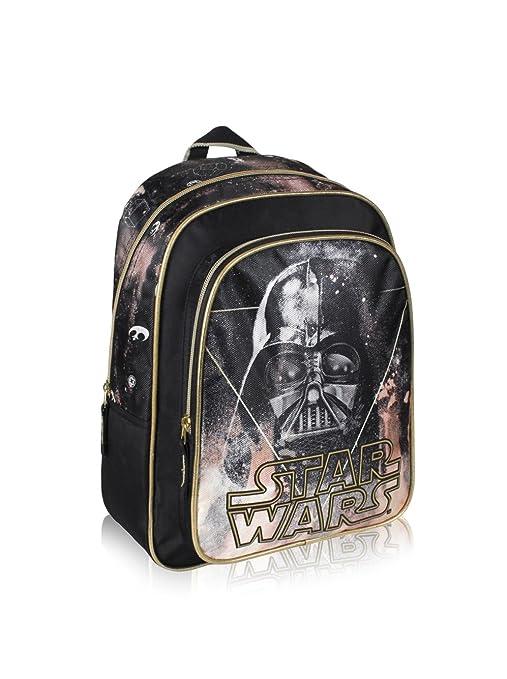 Artesanía Cerdá 2100001039 Star Wars Mochila Infantil, Color Negro