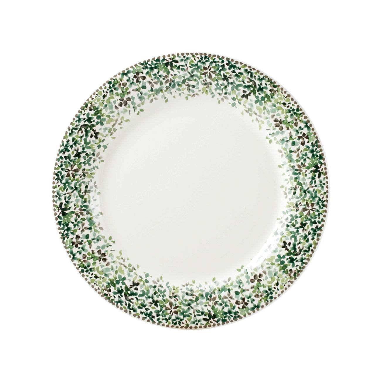 Gien Songe Canape Plates, Set of 4
