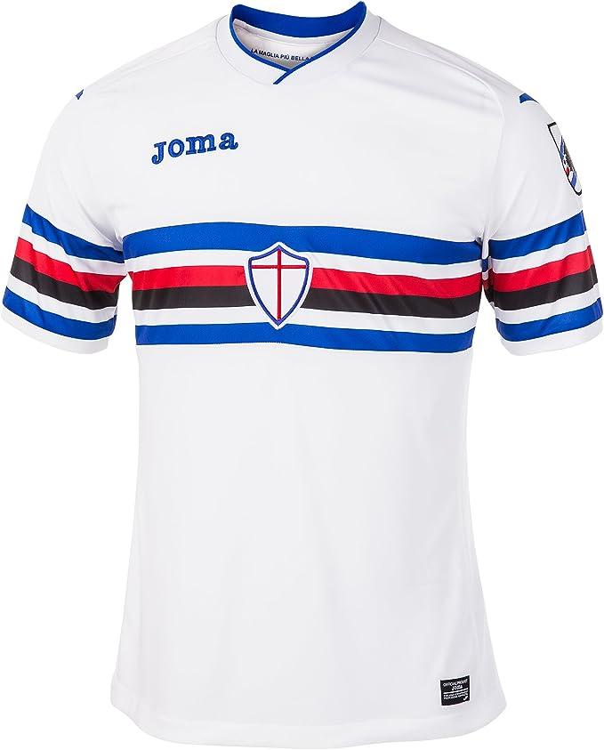 Joma 2ª Equipación Sampdoria 2017 – 18 M/C Blanco Uniforms ...