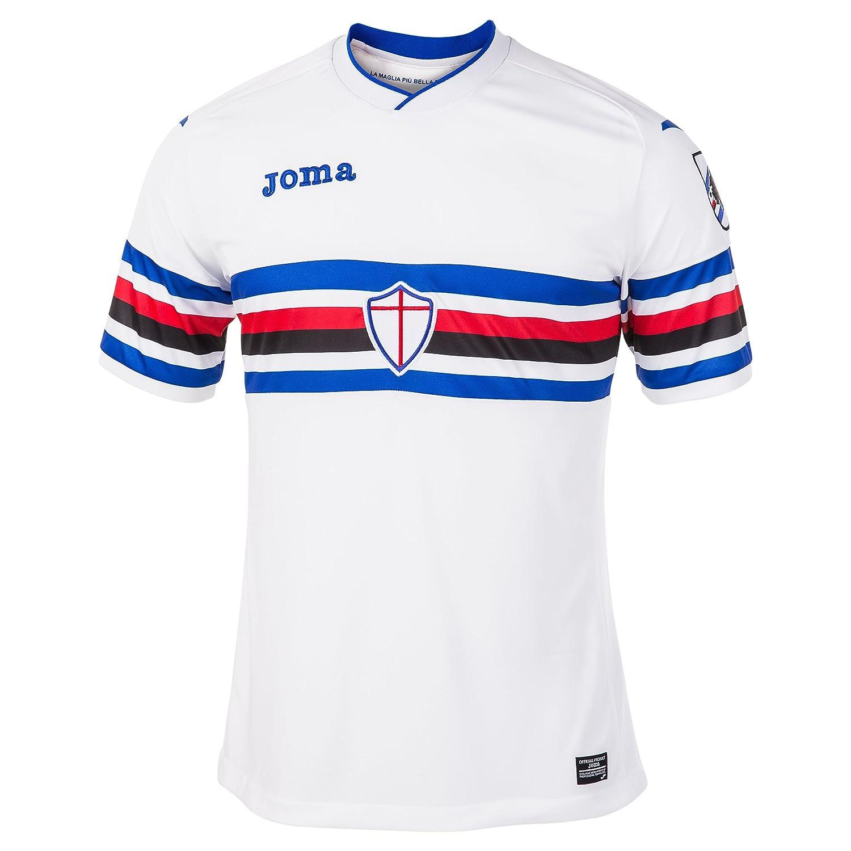 2017-2018 Sampdoria Joma Away Football Shirt B074MD57WYWhite XL 42-44\