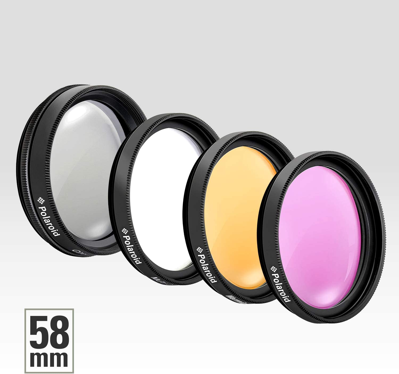 Polaroid Optics 4-teiliges Filter-Set 40.5mm UV, CPL, FLD, Warming