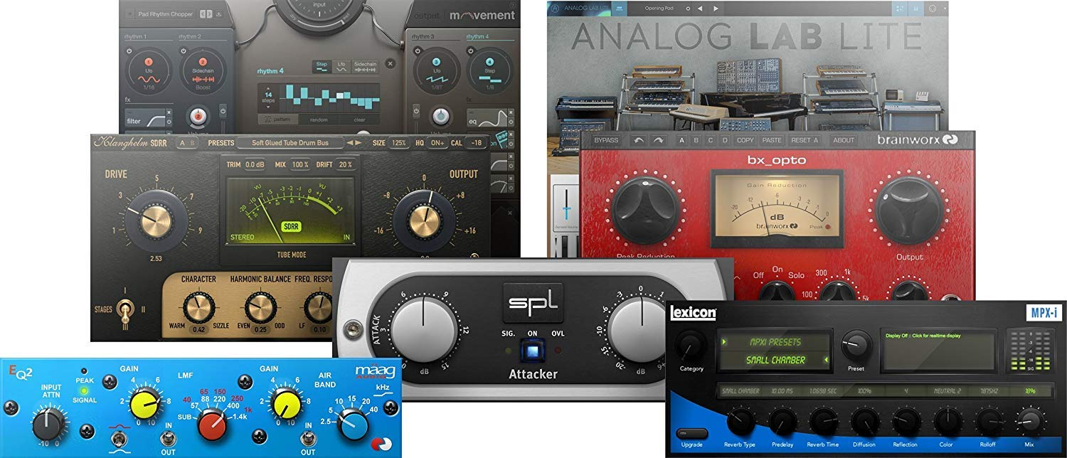 """Presonus AudioBox 96 Audio Interface Full Studio Bundle with Studio One Artist Software Pack w//Eris 5 Pair 2-Way Studio Monitors and 1//4/"""" TRS to TRS Instrument Cable"""
