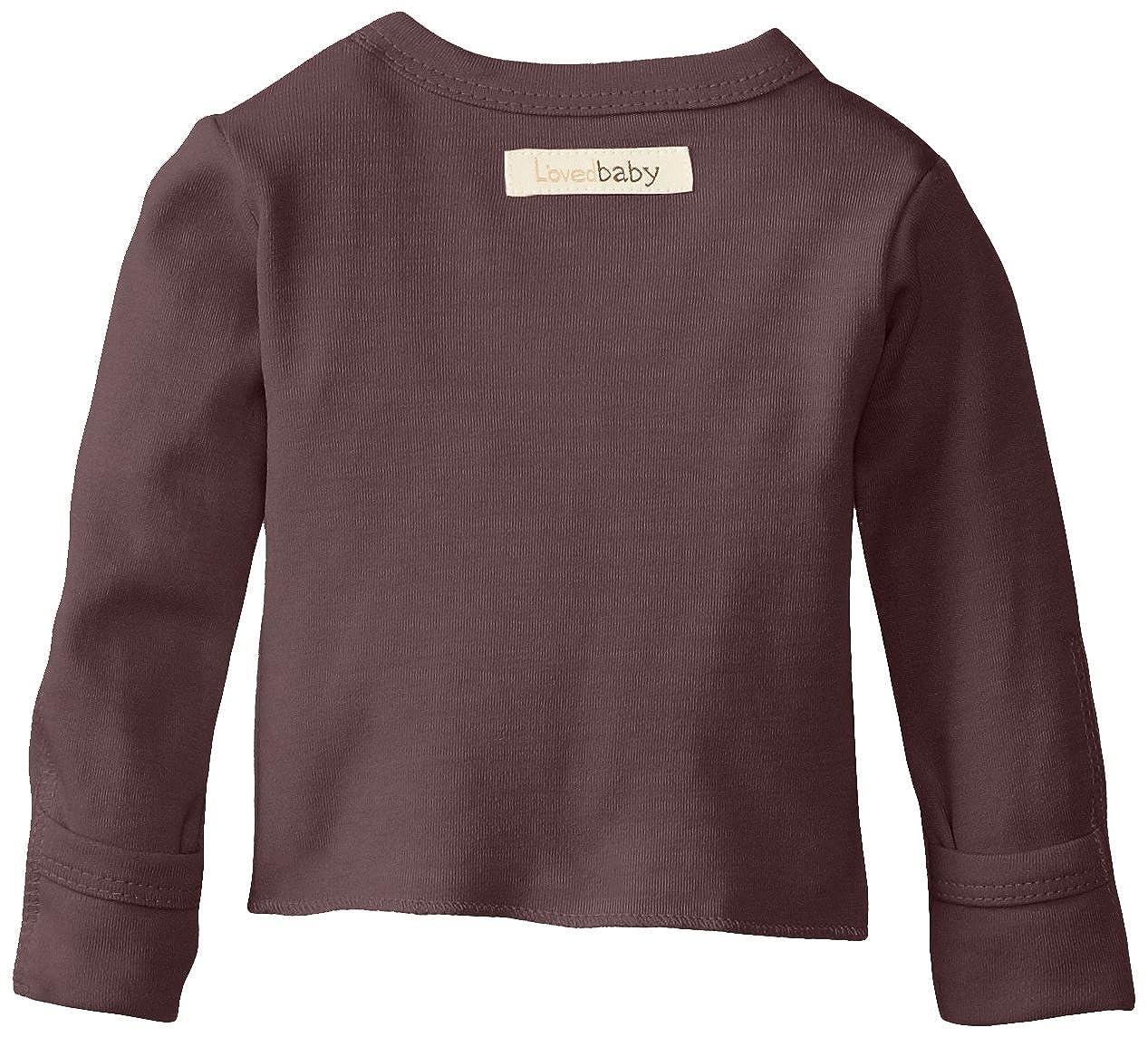 32d00e6d6 Amazon.com: L'ovedbaby Unisex-Baby Newborn Organic Wrap Shirt: Clothing