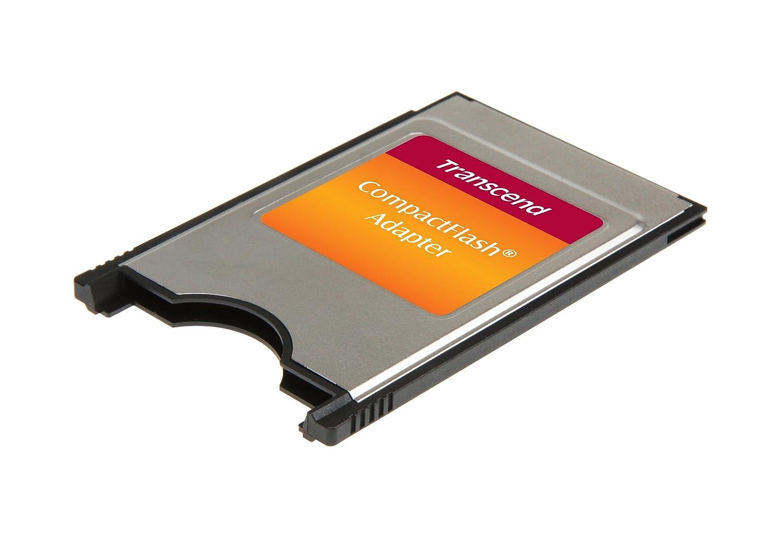 Transcend TS0MCF2PC - Adaptador para Tarjetas de Memoria Compact Flash (PCMCIA)