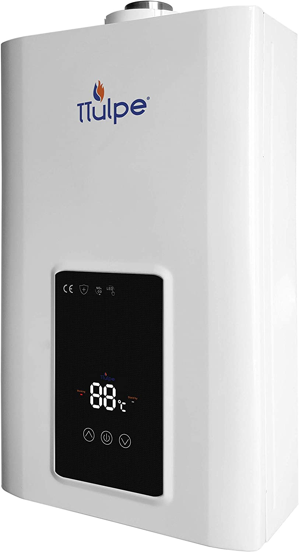 TTulpe TTCM1350 C-Meister 13 P50-Calentador de Gas propano (ErP/Low NOx, sin Aire, 50 mbar), Blanco