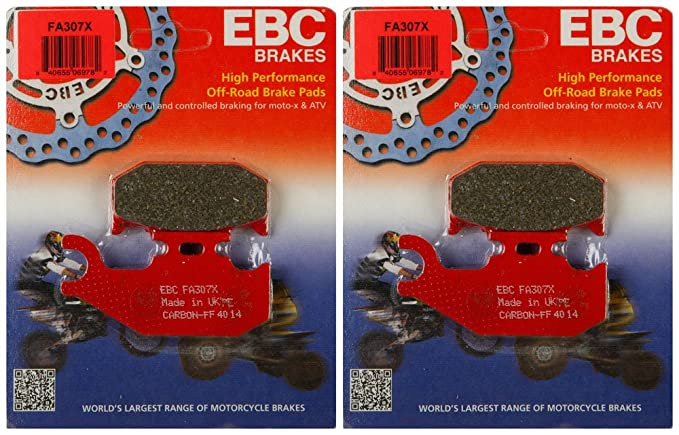 Ebc Brake Pads >> Amazon Com Ebc Brake Pads Fa307x 2 Packs Enough For 2 Rotors