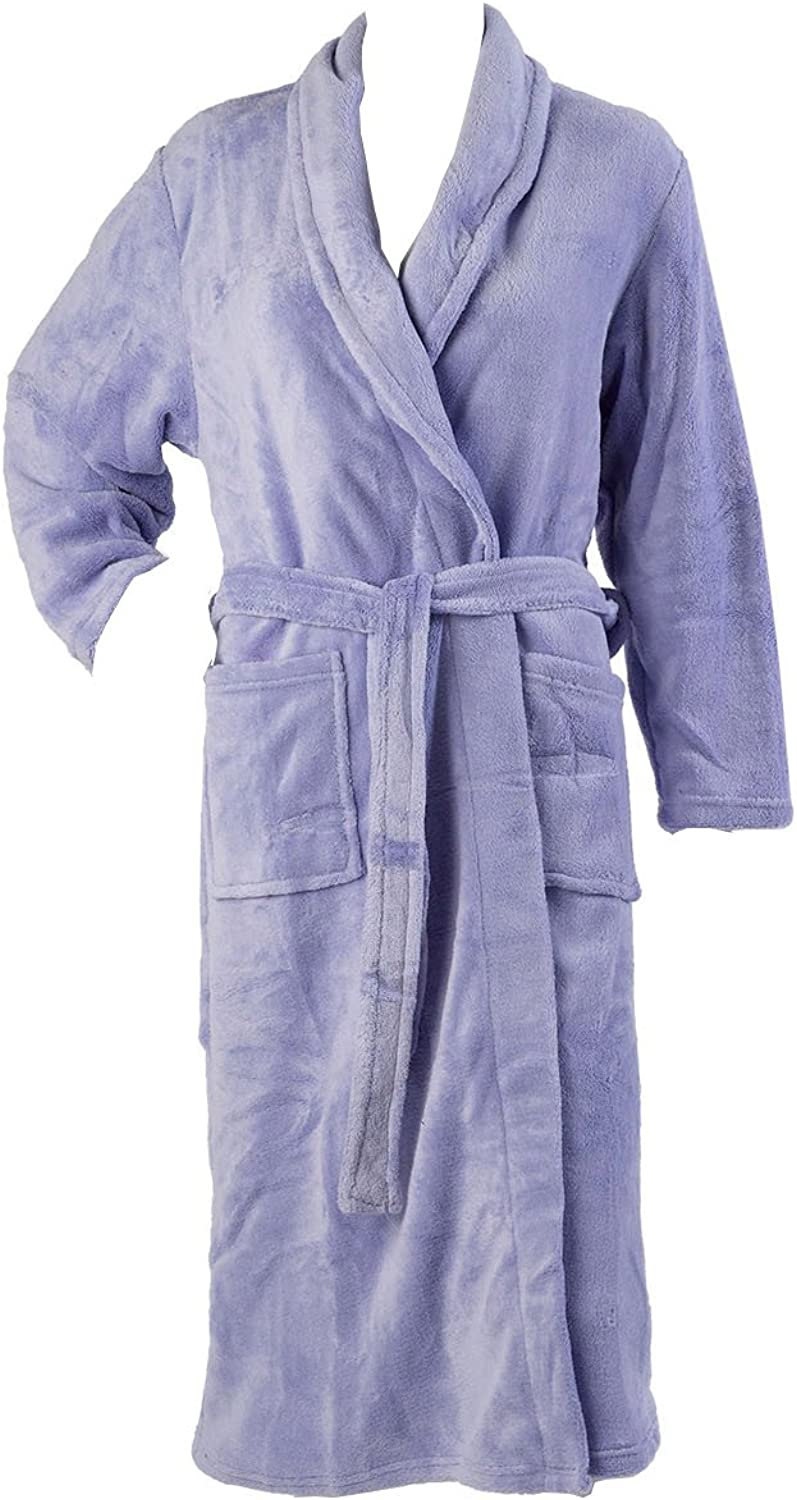 Cream or Coffee Sizes S//M//L DISCOUNTED SOFT /& SNUGGLY LADIES DRESSING GOWNS