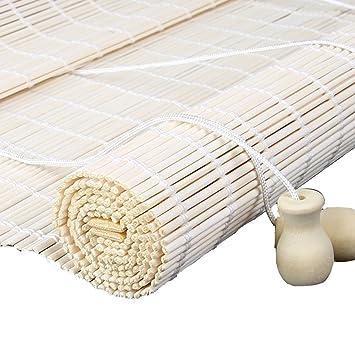 Amazon De Zemin Bambus Rollo Bambusrollo Jalousette Venezianisch