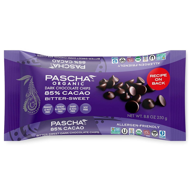 Pascha 85% Chocolate chips