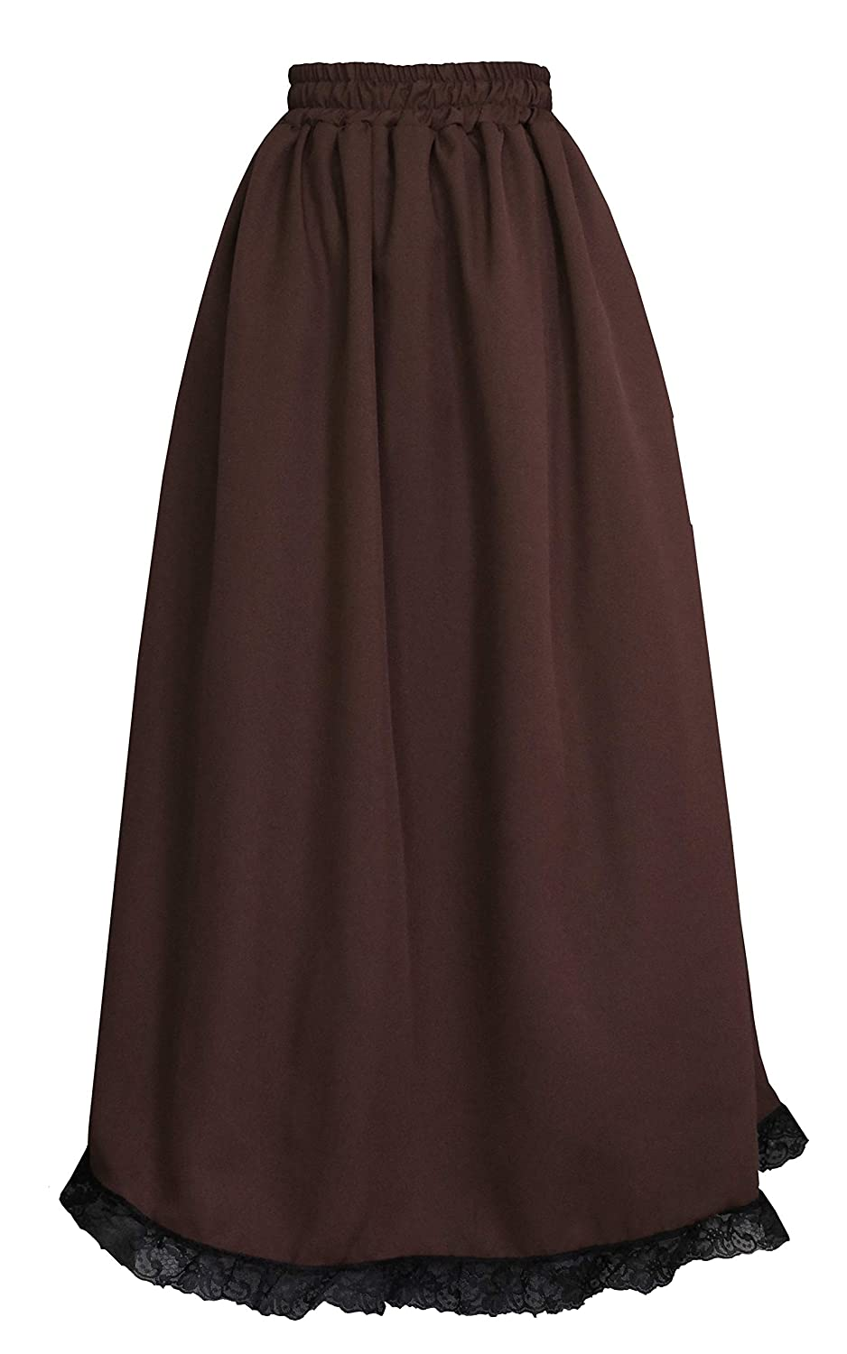 Cykxtees Womens Elegant Pleated Formal Occasion Party Full Long Skirt