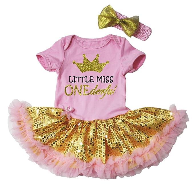 Amazon.com: petitebella Little Miss onederful Rosa Body ...